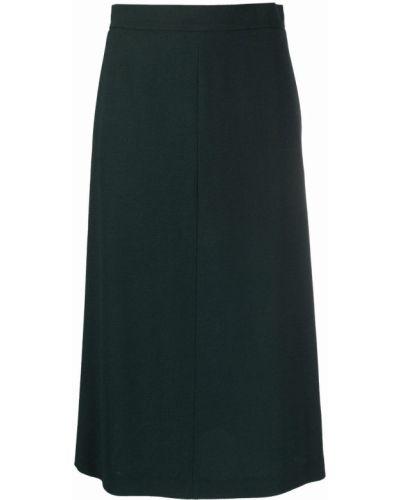 Zielona spódnica wełniana Antonelli