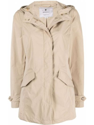 Приталенная куртка с капюшоном Woolrich