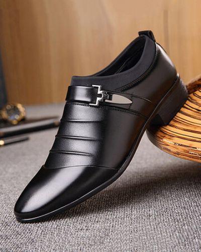 Черные туфли классические Newchic