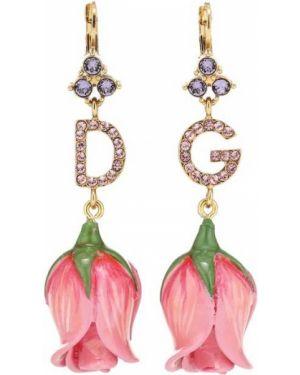 Серьги-кольца серьги-гвоздики Dolce & Gabbana