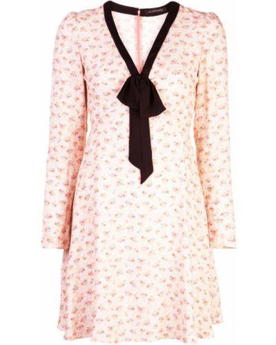 Платье мини с цветочным принтом расклешенное Jill Stuart