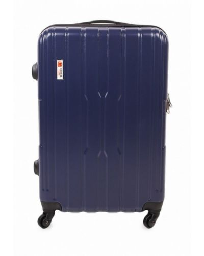 Синий чемодан Global Case
