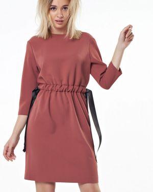 Платье с поясом на резинке платье-сарафан Fly