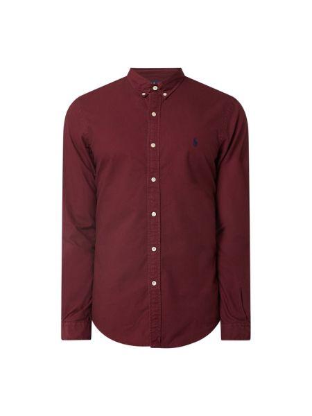 Bawełna puchaty koszula oxford z mankietami z długimi rękawami Polo Ralph Lauren