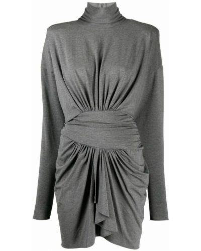 Szara sukienka Alexandre Vauthier