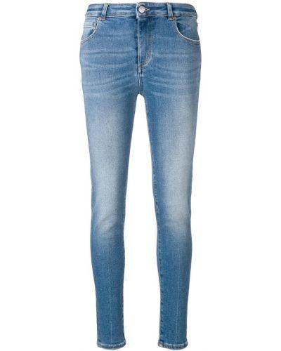 Облегающие зауженные джинсы - синие Acynetic