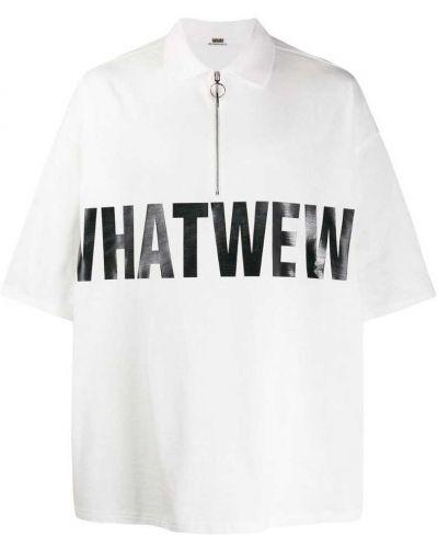 Свободная классическая рубашка с короткими рукавами с надписью Wwwm
