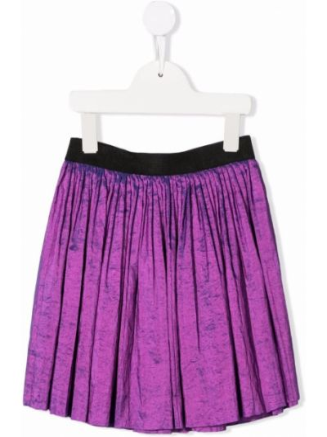 Spódnica plisowana - fioletowa Andorine
