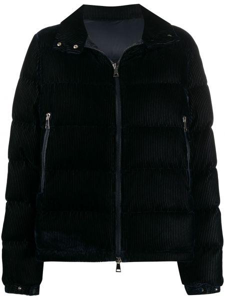 Куртка вельветовая на молнии Moncler