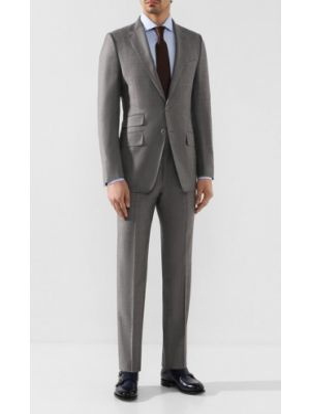 Шелковый костюм - серый Tom Ford