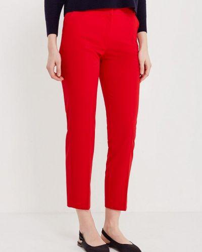 Красные зауженные брюки Mango