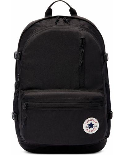 Черная сумка с карманами на молнии Converse