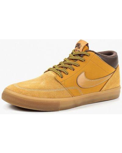 Высокие кеды замшевые Nike