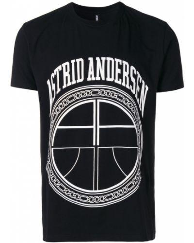 Черная футболка Astrid Andersen