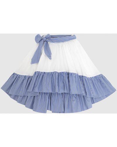 Белая юбка миди Caf
