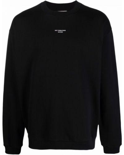 Czarna bluza bawełniana Drole De Monsieur