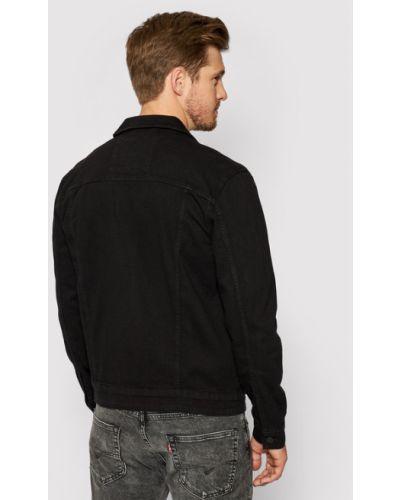 Czarna kurtka jeansowa Only & Sons
