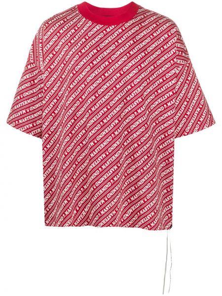 Koszula krótkie z krótkim rękawem z paskami w paski Mastermind World