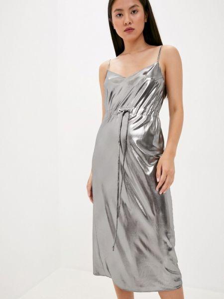 Серебряное платье Laroom