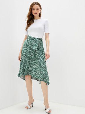 Зеленое прямое платье Teratai