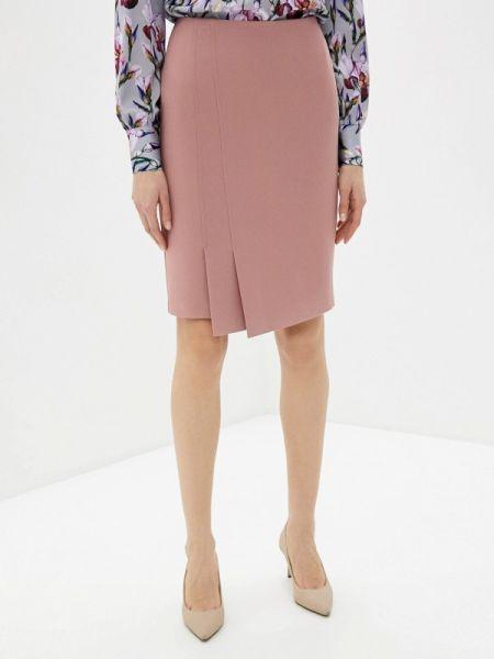 Розовое облегающее платье Samos Fashion Group