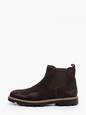 Коричневые демисезонные ботинки Mascotte