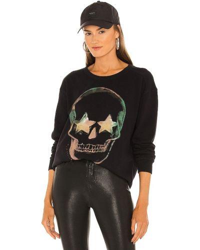 Флисовый пуловер - черный Chaser