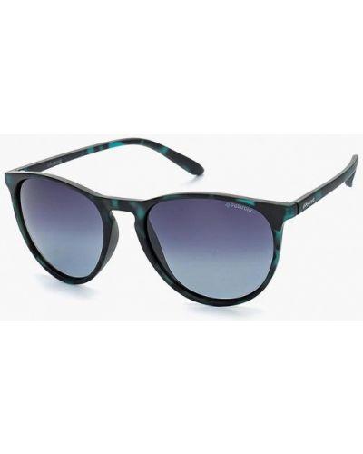 Зеленые солнцезащитные очки Polaroid