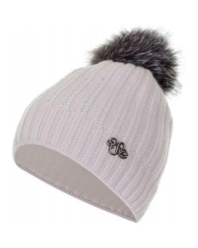 Вязаная шапка с помпоном хлопковая Glissade