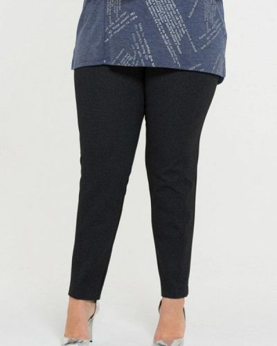 Черные брюки повседневные Intikoma