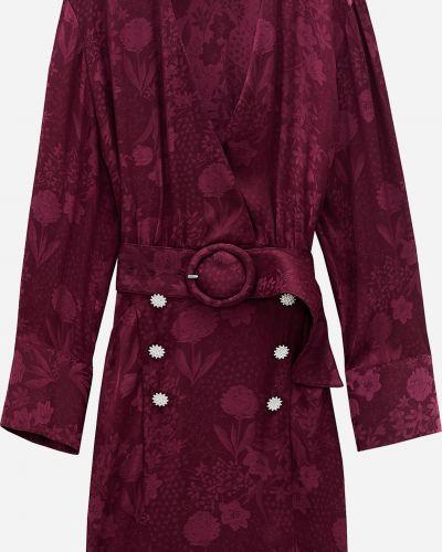 Платье - бордовое Zara
