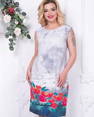 Летнее платье с цветочным принтом платье-сарафан Diolche