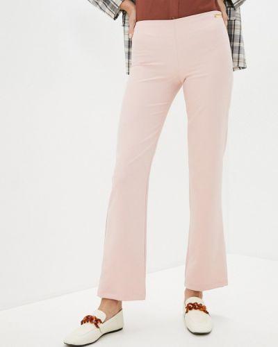 Повседневные розовые брюки Trussardi Collection
