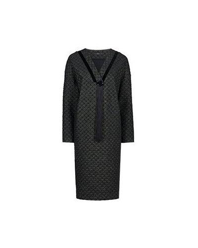 Черное платье из полиэстера Vuall