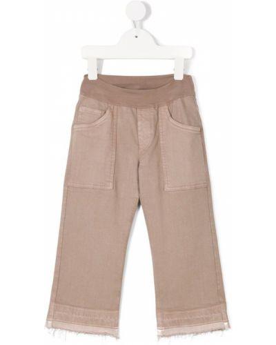 Коричневые классические брюки European Culture Kids