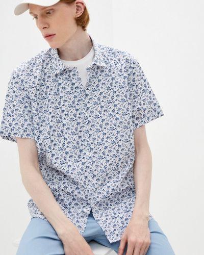 Голубая рубашка осенняя Hopenlife