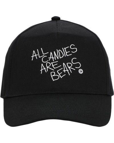 Czarna czapka bawełniana Taboo