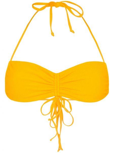 Желтые нейлоновые бикини Frankie's Bikinis