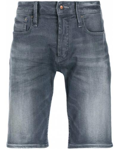 Джинсовые шорты с карманами с манжетами Denham
