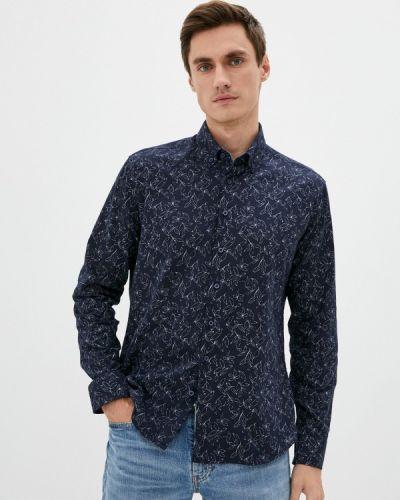 Синяя весенняя рубашка Defacto