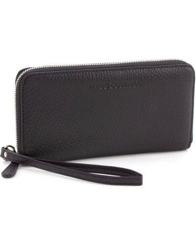 Кожаный портмоне - черный Marco Coverna