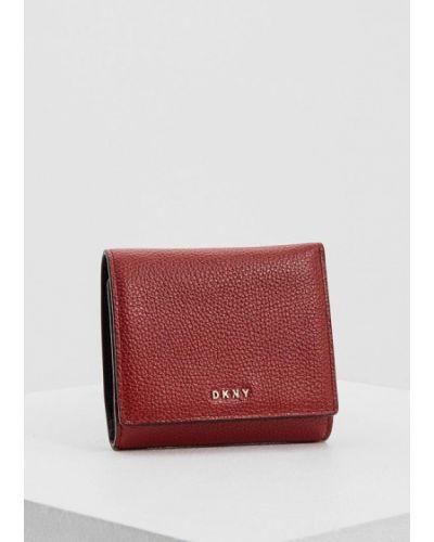 Красный кошелек Dkny