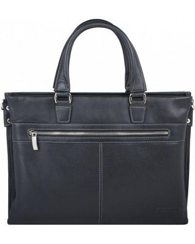Кожаная сумка на молнии для ноутбука Franchesco Mariscotti