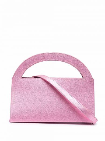 Różowa torebka skórzana Medea
