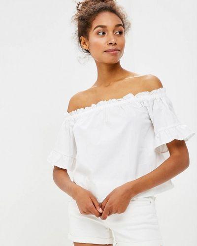 Белая блузка Piazza Italia