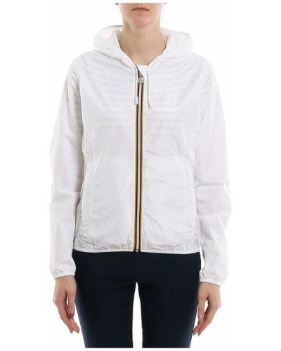 Biała kurtka K-way