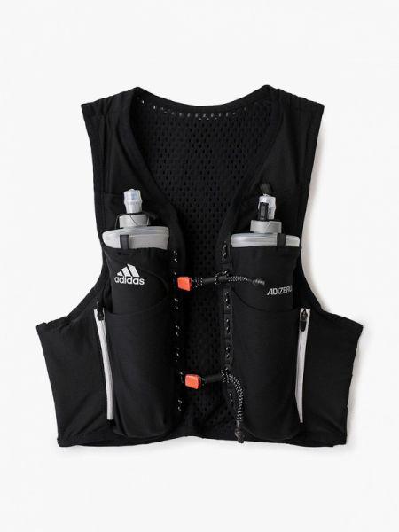 Спортивная жилетка черная костюмная Adidas