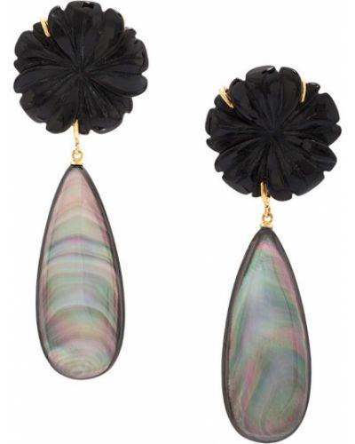 Черные серьги Lizzie Fortunato Jewels