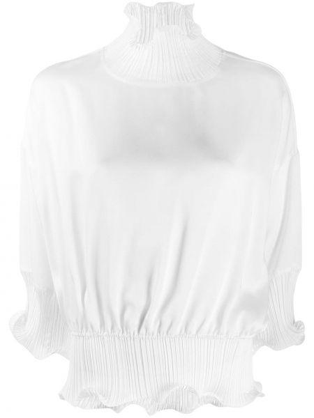 Bluzka na gumce biała Givenchy