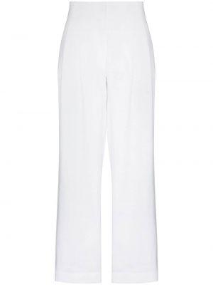 Białe spodnie Asceno